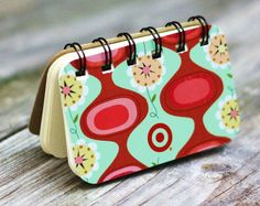 This little notepad is created with a Target gift card. Chrissy at Hoot Designs made it -- fun!