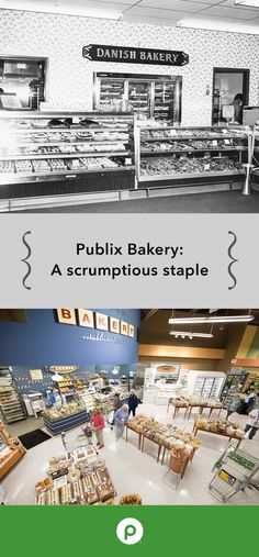 """When the Publix Bakery was first imagined, there was no room in the early stores to include one. The Publix team decided to open a stand-alone """"Danish Bakery"""" in the same plaza to gauge the interest of our customers. Today, the Publix Bakery is a staple in all our stores."""
