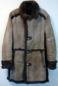 Let me be your Marlboro Man! Love these vintage shearling coats! Ending this week in my store.