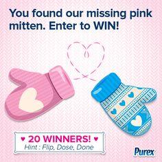 You found the Valentine's mitten! - Purex