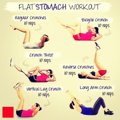 Easy Workouts For A Flat Stomach