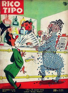 Revista Rico Tipo Año 2 Nº43 6 Septiembre 1945