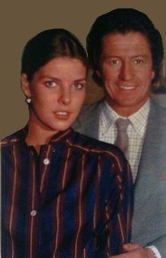 Princess Caroline and Philippe Junot - 1979