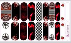 "My Twilight Custom Jamberry Nail Wraps - ""TwiLove Forever"" $25.00/sheet http://twilovetojam.jamberrynails.net 1 sheet = 2 manicures & 2 pedicures/accent nails Message me if you would like to order: TwiLovetojam@gmail.com"