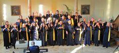 Der Gospelchor bereitet sich auf die beginnende Konzertsaison vor.