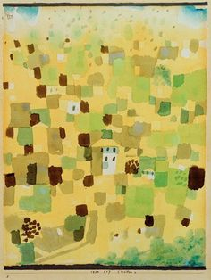 Paul Klee - Sizilien, 1924