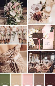 Eine Hochzeit im Herbst kommt ganz ohne Blätter und Kürbisse als Dekoration aus…