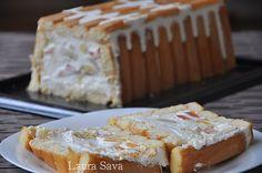 Chec Diplomat Cookie Recipes, Dessert Recipes, Dessert Ideas, Romanian Food, Romanian Recipes, White Cakes, Cupcake Cakes, Fruit Cakes, Cupcakes