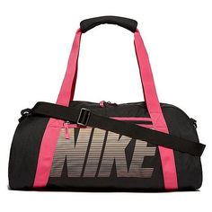 Nike Gym Club Training Duffel Bag (560 MXN) ❤ liked on Polyvore featuring bags and luggage