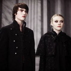 Alec and Jane...The 'witch' twins