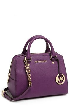 Like the style...interesting color...what would I wear it with???...MICHAEL Michael Kors 'Jet Set - Medium' Satchel