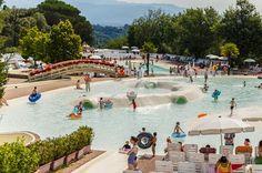 Camping Norcenni Girasole Club Campingplatz Ferien Urlaubsziele Park Italien