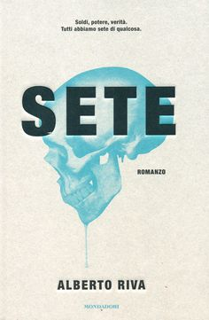 Sete by Alberto Riva    I feel a little lost for words when it come to writing about this cover. From the sepia background to the embossed, considered type, the whole thing just feels so complete. Designed by Manuele Scalia