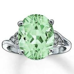 Jared Green Amethyst Ring