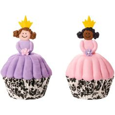 Royal Princess Cupcakes - instructions, etc