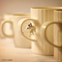 """""""Steeplechase"""" http://miniature-calendar.com/130724/"""