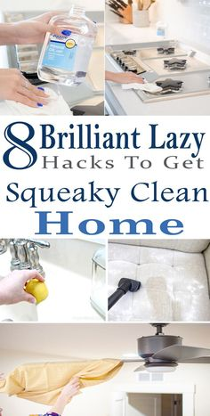 These are BEST CLEANING HACKS I've ever seen. They'll make cleaning my home a lot easier. New ways of home cleaning. Definitely pinning for later!!