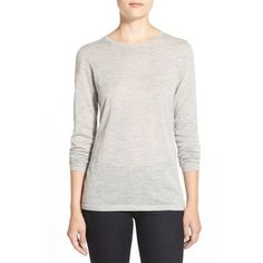 Nordstrom Collection Lightweight Cashmere Crewneck Sweater