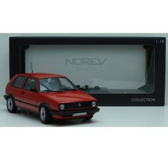 Nostalgic Model of the legendary Volkswagen Golf type 2 scale 1:18 from Norev.