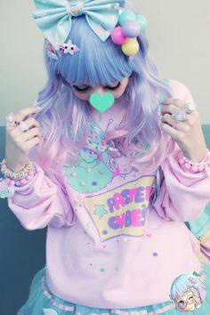 Fairy kei, cute girl, kawaii, Harajuku, Tokyo fashion