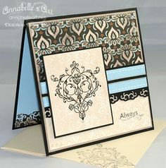 Elegant Wedding by TricotsDuCoeur - Cards and Paper Crafts at Splitcoaststampers