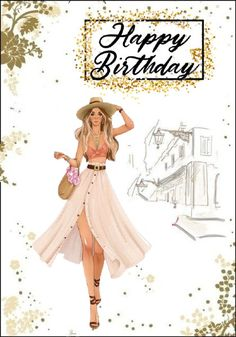 Happy Birthday Greetings Friends, Happy Birthday Ecard, Birthday Cards, Happy Birthday Illustration, Illustration Girl, Betty Boop Cartoon, Wire Jewelry Designs, Aurora Sleeping Beauty, Birthdays