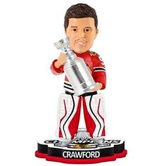 Chicago Blackhawks Corey Crawford #50 2015 Stanley Cup Champions Bobblehead