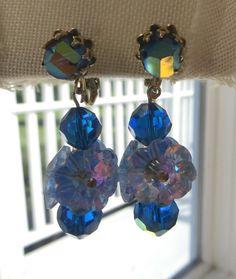 Vintage Vendome Clip Earrings Margarita by VintageVogueTreasure, $75.00