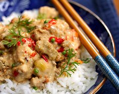 Slow cooker Thai red curry turkey, from The Perfect Pantry.