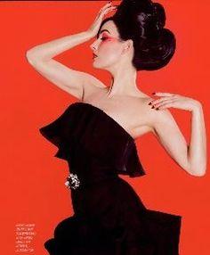magazine: GenLux  photographer: Marc Baptiste  makeup: Kathy Jeung  hair: Kim Gueldner