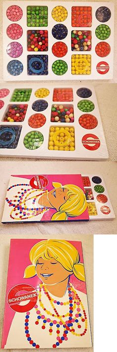 Wood 179274: Vintage Set Of Schowanek Wooden Beads 400+ Total Original Packaging Germany -> BUY IT NOW ONLY: $48 on eBay!