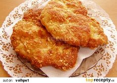 Řízky podle pana Krtičky z Broumova recept - TopRecepty.cz European Dishes, Russian Recipes, Food 52, Cornbread, Macaroni And Cheese, Lamb, French Toast, Bacon, Good Food