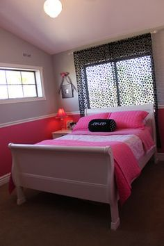 Hot Pink Bedroom Ideas Design Ideas, Pictures, Remodel, and Decor - page 3