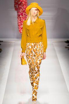 43 photos of MaxMara at Milan Fashion Week Spring 2015.