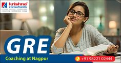 Join GRE Coaching at Krishna Consultants Nagpur. Appear for KC Scholarship test on 9th June 2017 @5.30 pm. Get up to 50% #Scholarship on #Coaching Fees. GRE Batches starting from 13th June 2017. Attend FREE Demo Class by Experienced #GRE Faculty. Call: 9822102444  Register here: https://goo.gl/qhzQC2