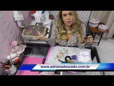 Aula 1 como fazer bolsa bag romântica by Adriana Dourado - YouTube