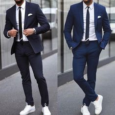 Royal Fashionsit is the best Men's Fashion Guide. Here you will find the latest trends on men's style. Get inspired with these outfits and leave your comment below. Best Mens Fashion, Mens Fashion Suits, Mens Suits, Lookbook Mode, Fashion Lookbook, Style Casual, Men Casual, Men's Style, Style Brut