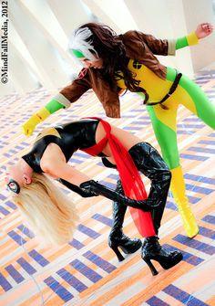Avengers vs X-Men: Round 2 by ~JeanneKilljoy on deviantART