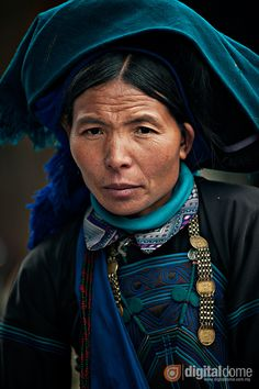 The Ha Nhi ethnic minority people at the Muong Hum Market located 50km  from Sapa on the Chinese border.