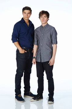 Luke Bilyk as (Drew) and Munro Chambers as (Eli) #Degrassi