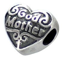 god mother beads | Authentic Zable Godmother Heart Bead Charm BZ2241 $21