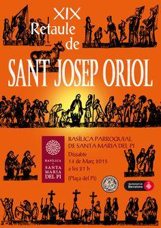 Retaule de Sant Josep Oriol. 14 de març de 2015
