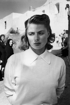 Ingrid Bergman Sadness is blessing                              …