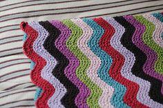 Cosine Ripple Baby Blanket by Sam Godden