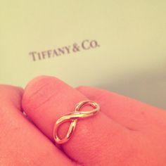 {Jewels} Tiffany & Co's infinity ring #infinity #ring #Tiffanys <3 ∞