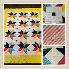 High street throw quilt i love the bright yellow orange green and