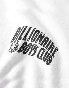 Billionaire Boys Club Small arch logo t-shirt white