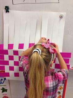 Jackson's Art Room: Learning to weave! Montessori Activities, Motor Activities, Classroom Activities, Preschool Activities, Kindergarten Art Lessons, Gross Motor Skills, Preschool Art, Art Classroom, Elementary Art