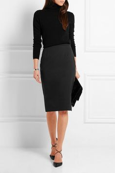 Vivienne Westwood Anglomania | Stretch-cotton piqué pencil skirt | NET-A-PORTER.COM