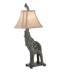 Another great find on #zulily! Elephant Table Lamp #zulilyfinds